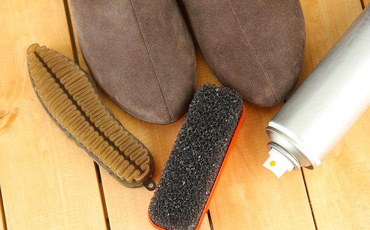Этапы ухода за обувью