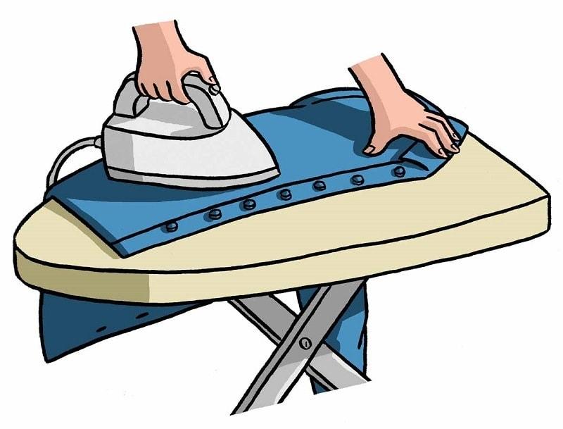 как правильно гладить рубашку