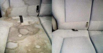 чистка автомобиля